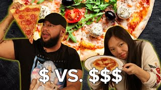 Cheap Vs. Expensive Pizza