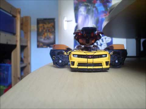 cyberfire bumblebee stop motion review