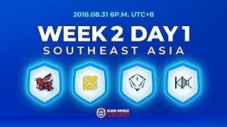 Clash Royale League Asia Season2 - Week 2 Day 1