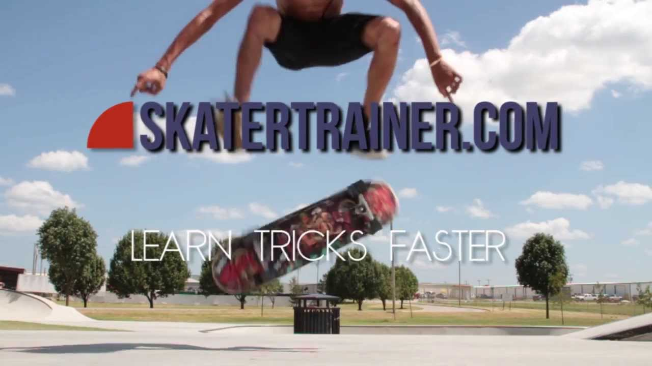 5 Easy To Learn Skateboard Flatground Tricks - YouTube