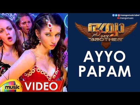 Ayyo Papam Video Song HD | Bhaiyya My Brother Malayalam Movie | Ram Charan | Shruti Haasan | Yevadu
