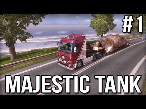 Majestic Tank #1 - Euro Truck Simulator 2 (Research Profile)