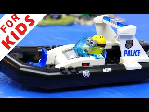 LEGO Police сhase - prison break [Episode 2]