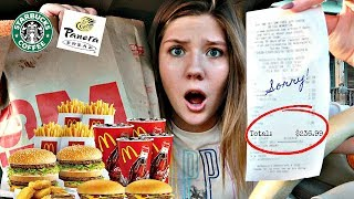 Letting the Person in Front of Me Decide What I Eat for 24 Hours | Totally Taylor