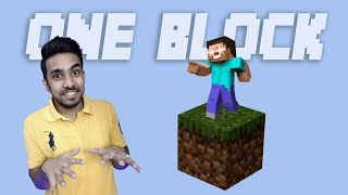 MINECRAFT ONE BLOCK CHALLENGE | ROAD TO 3 MILLION