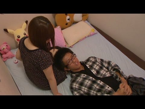 Want To Cuddle A Stranger? Go To Japan video