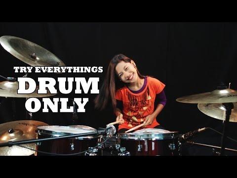 download lagu Syakira - Try Everythings DRUM ONLY By Nur Amira Syahira gratis