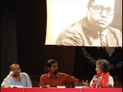 Arundhati Roy on Dr. B R Ambedkar & Mahatma Gandhi Pt 2 of 3 - Discussion