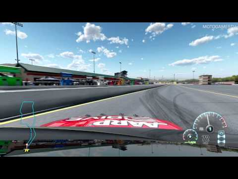 NASCAR The Game 2013 PC Beta - Sonoma Track Testing