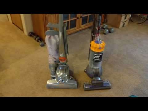 Kirby vs Dyson Vacuum Cleaner Review