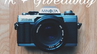 1k Subscribers + Film Camera Giveaway! (ENDS APRIL 1ST)