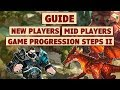 King's Raid   New To Mid Players Progression Guide + Game Progression Steps (Part 2)