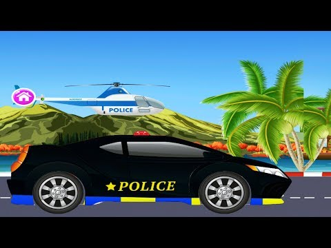 Police Car Mechanic 4/4 | Police Car | Police Car Repair | Car Garage | Car Repair | kids videos