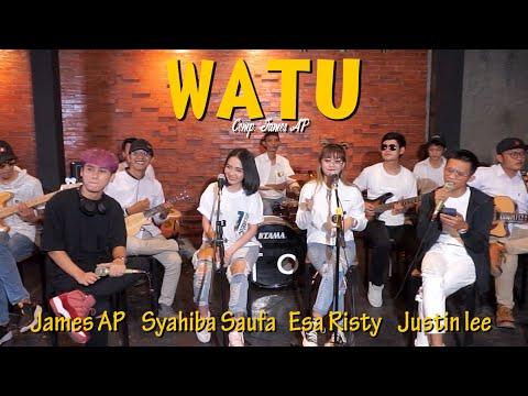 Download Lagu Watu - Syahiba Saufa, Esa Risty, James AP. Justin Liee | Ska Koplo .mp3