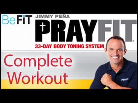 Prayfit 33 Day Body Toning System  Full Length Workout  Jimmy Pe  A