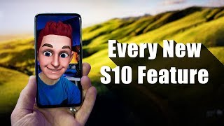 Every New Galaxy S10e, S10 & S10+ Feature