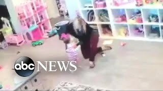 Superhero Mom Saves Daughter