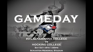 Lackawanna College Football vs Hocking College