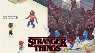 STRANGER THINGS 3 All Boss Fights