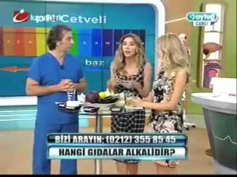 Dr. Ayşegül Çoruhlu Alkali Diyeti Dr.Aytuğ'da Anlatıyor