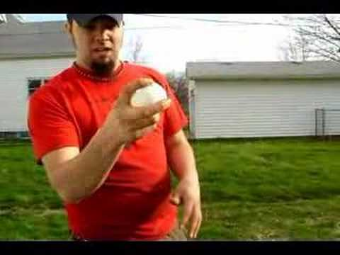 Wiffle Ball Pitching (Sinking Curve)