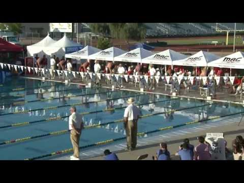 Michael Phelps 100m Butterfly Mesa Arizona finals 2014 with Ryan Lochte