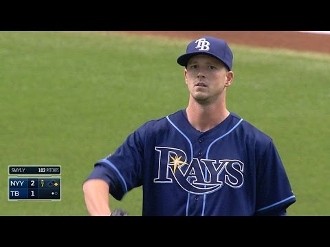 NYY@TB: Smyly pitches seven innings of two-run ball