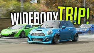 WIDEBODY Roadtrip In Forza Horizon 4 Multiplayer!