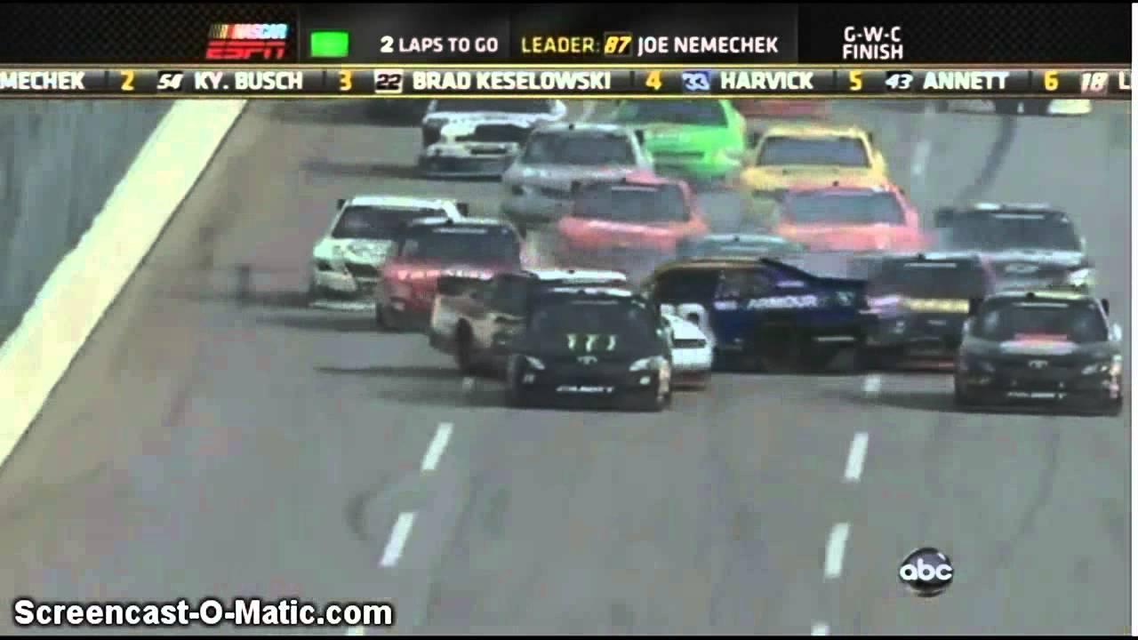Nascar Crashes 2012 Nascar Worst Crashes of 2012