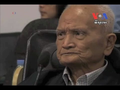 Khmer Rouge Ex-Leaders Give Final Statements at War Crimes Tribunal មេដឹកនាំ​ខ្មែរ​ក្រហម