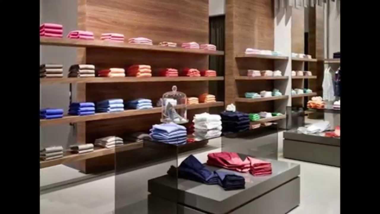 muebles de ropa para tiendas - YouTube