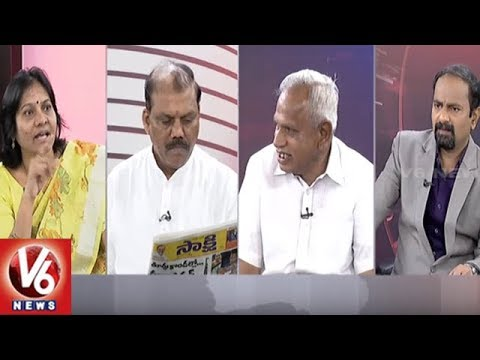 Special Debate Over Maoists Attack On AP TDP Leaders | Good Morning Telangana | V6 News