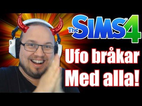 The Sims 4 - Ufo Bråkar Med ALLA!!