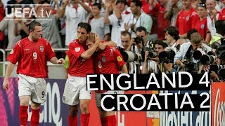 ENGLAND beat CROATIA at EURO 2004