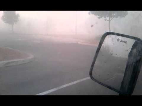 Dust Storm in San Antonio.