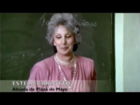 Quién Soy yo? Estela de Carlotto en la escuela de Tatiana