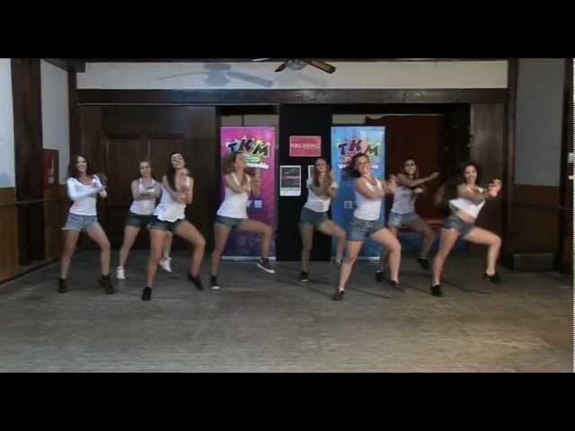 Coreografía de  Gangnam Style de PSY (Paso a Paso)  / TKM LIVE