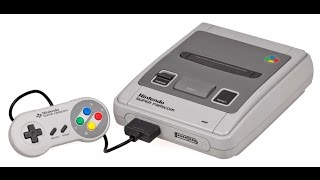 All Super Famicom Games - Every Super Nintendo Family Computer Game In One Video [WITH TITLES]