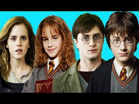 Harry Potter series in 7 minutes
