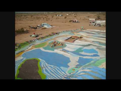 Salton Sea and Salvation Mountain Niland ca