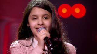 Katarina - 'I Have Nothing'   Blind Auditions   The Voice Kids   VTM