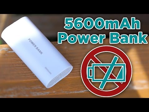 Never Run Out Of Battery Life AGAIN! - G4Gadgets -5600mAh Power Bank Review - Best Portable Charger
