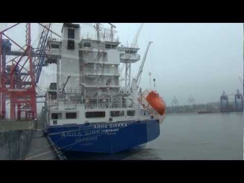 Freifallrettungsboot Test