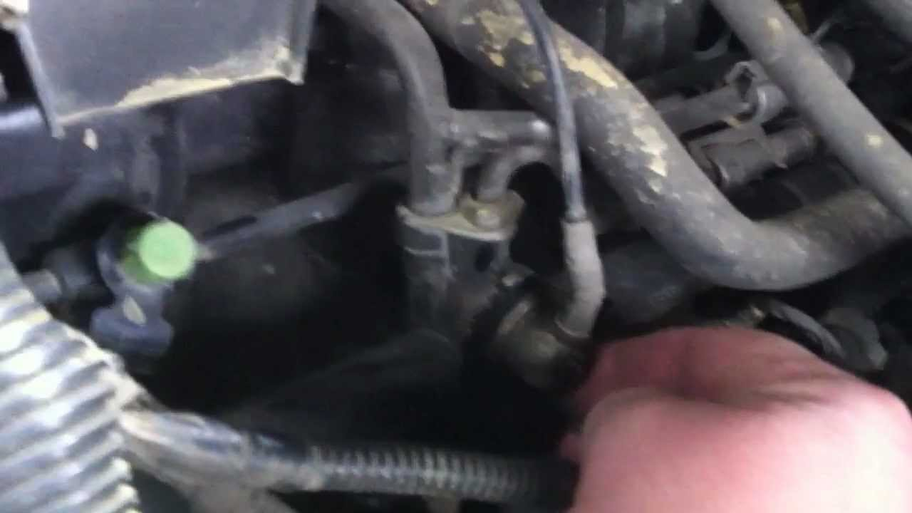 How to change fuel pressure regulator 720p mov youtube