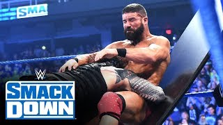 Roman Reigns vs. Robert Roode – Tables Match: SmackDown, Jan. 17, 2020