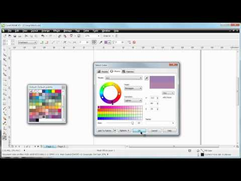 CorelDraw X5 Demo: What the Mesh Fill tool can do