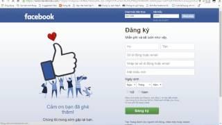 Cách vào FB bằng ID cá nhân