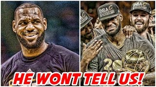 LeBron has a secret that he's not telling us! | Kevin Durant's Next Chapter?