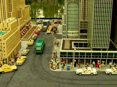 Lego Mock Up Of New York City At Legoland Park In Carlsbad