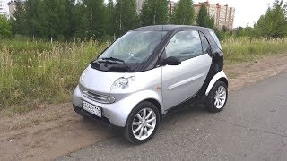 2005 Smart Fortwo. Start Up, Engine, and In Depth Tour.